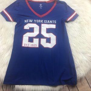 Women's NY Giants t shirt size small